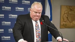 Rob Ford's Tie Is Supposedly On eBay For $10K, And It's A Little