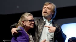 Mark Hamill soulagé de l'apparition de Carrie Fisher dans le prochain «Star