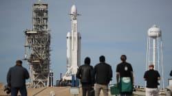 Revivez le lancement de Falcon Heavy, la fusée de