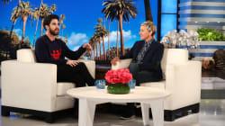 Darren Criss Tells Ellen DeGeneres He Has No Problem Getting Naked On