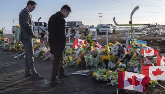 Humboldt Crash Was The Year's Biggest Story In Canada, According to