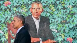 Perché il ritratto ufficiale di Obama ha un dito di