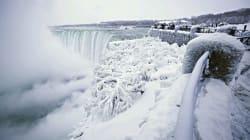 Stati Uniti con temperature polari, ghiacciano anche le cascate del