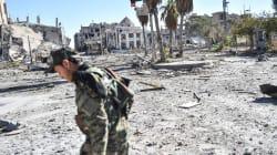 Corps en décomposition et prisons désertes dans Raqa sans