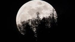 Une «super Lune bleue de sang» s'offre en