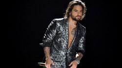 A Maluma le 'mancharon' la sonrisa en los MTV