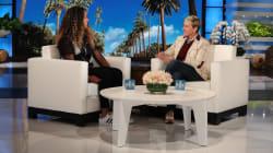 Naomi Osaka Tells Ellen DeGeneres What Serena Williams Whispered To