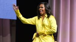 Michelle Obama se ha puesto las botas altas más locas (y brillantes) que has