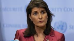 La représentante américaine à l'ONU a une explication aux rires provoqués par