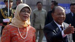 Halimah Yacob será la primera mujer presidenta de