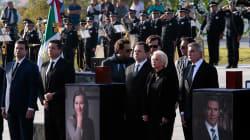 La clase política mexicana se reúne en el funeral de Martha Erika y Moreno