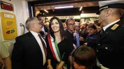 Virginia riparte dalla metro C. La sindaca inaugura la stazione di S.Giovanni: