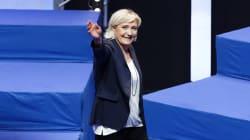 Marine Le Pen réélue à la tête du FN, son père Jean-Marie