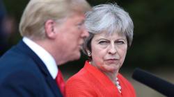 Trump sugirió que demande a la UE por el Brexit: Theresa
