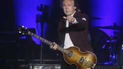 Paul McCartney s'est rendu sur la tombe de Johnny Hallyday,