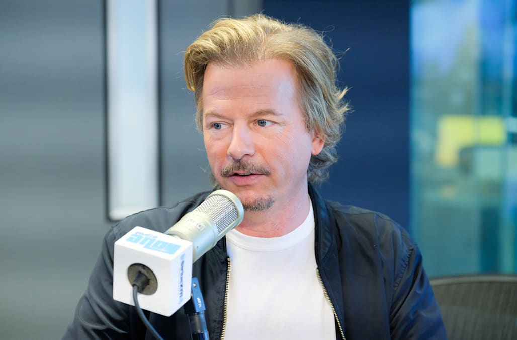 Found david spade big cock apologise, but
