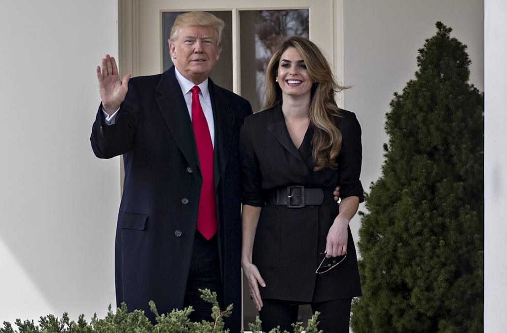 377d4170b8ce Hope Hicks reportedly told friends she wouldn't return to the White House  this year, even if Trump asked