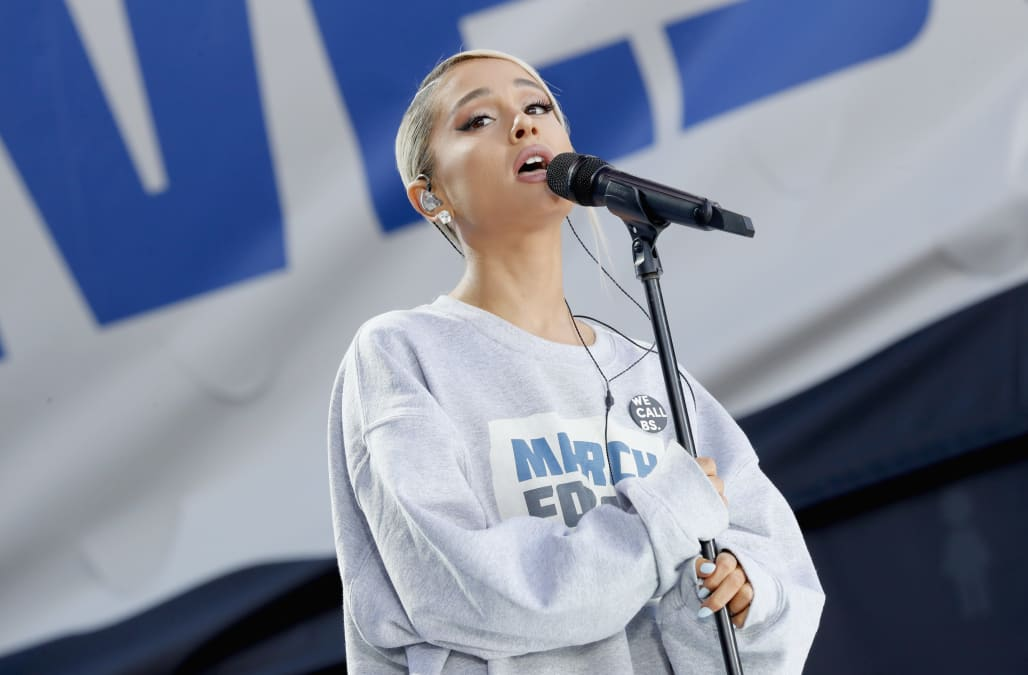 Song Review Ariana Grande S No Tears Left To Cry Aol