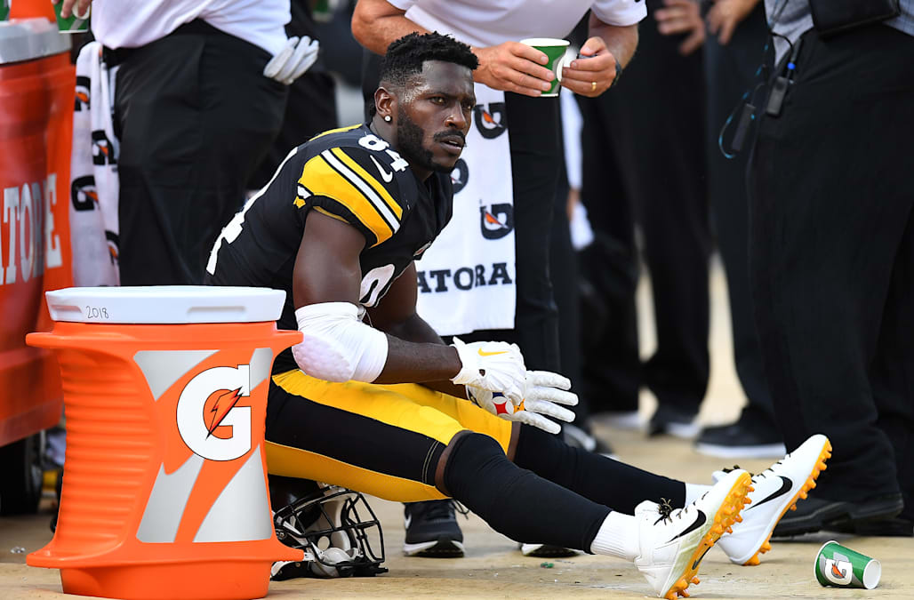 384206d2e52 Steelers  Antonio Brown didn t report to work on Monday - AOL News