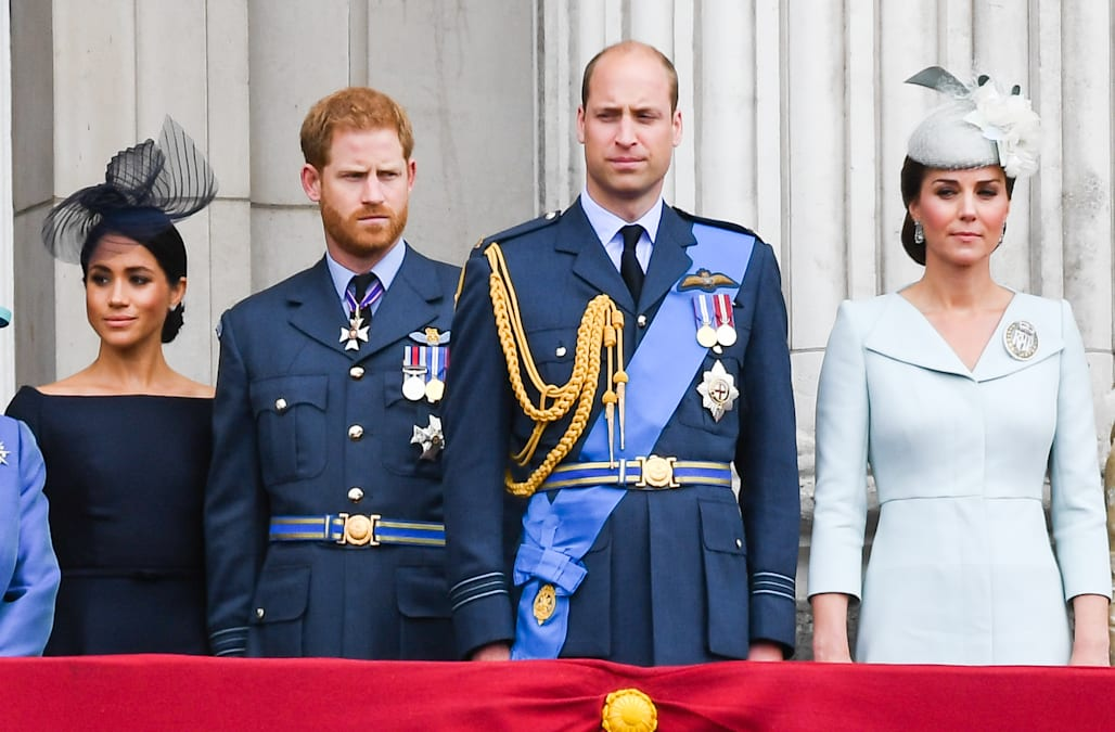b186082bb332b Did Prince William express his doubts about Meghan Markle to his brother, Prince  Harry, before the couple wed earlier this year?