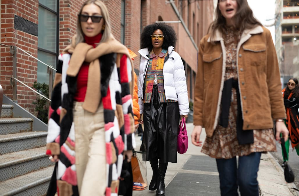 68136fd34aed NYFW: Best street style looks from New York Fashion Week F/W 2019 ...