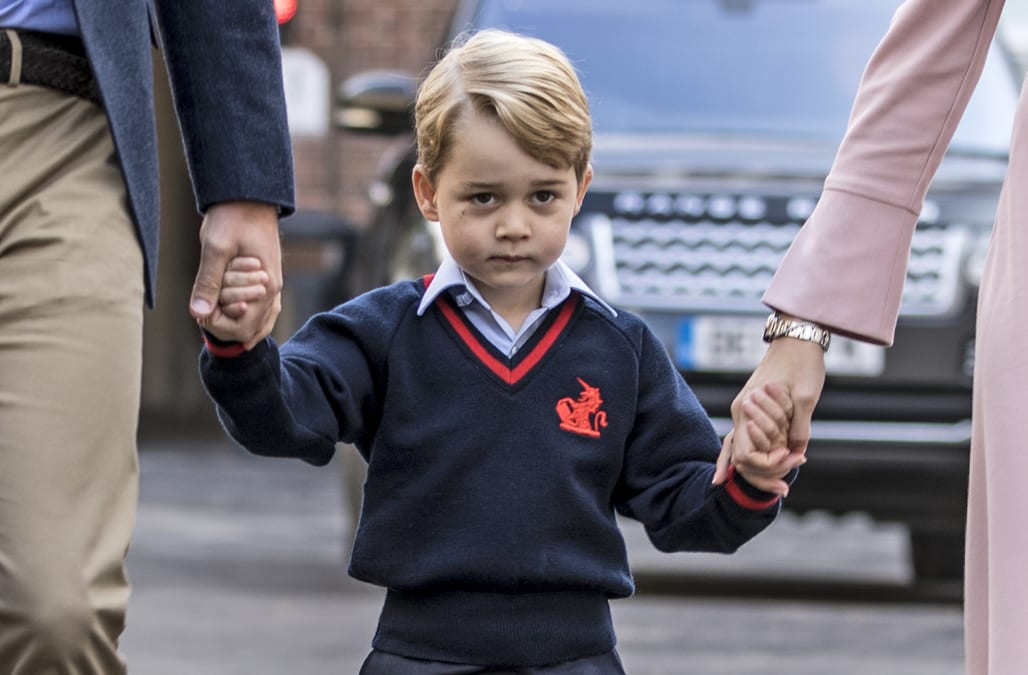 Prince George's friends have given him the most adorable nickname