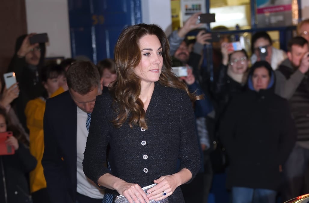 Kate Middleton and Prince William step out for night at the theater