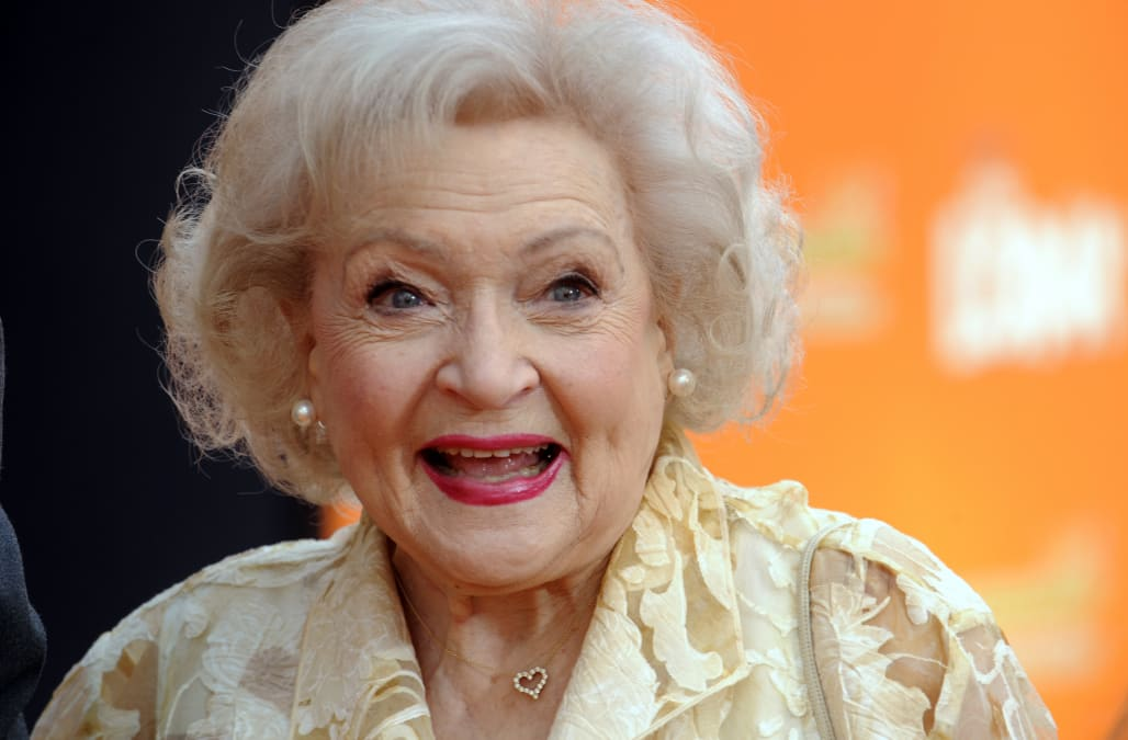 With her 96th birthday in sight betty white reveals her surprising iconic actress betty white is gearing up to celebrate her 96th birthday on jan 17 and shes going to ring in the big occasion with a little help from two bookmarktalkfo Images
