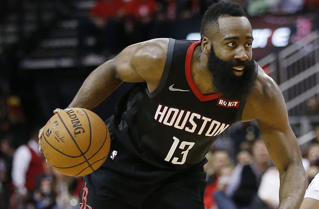 213533aa7d4 NBA MVP James Harden reveals his go-to workout products - AOL News