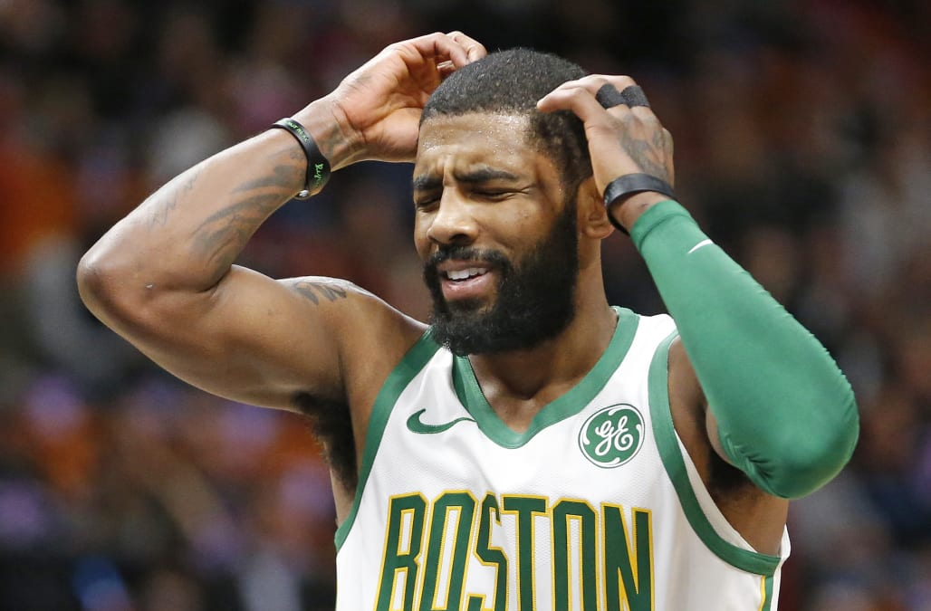 Boston Celtics guard Kyrie Irving called former teammate LeBron James to  apologize for