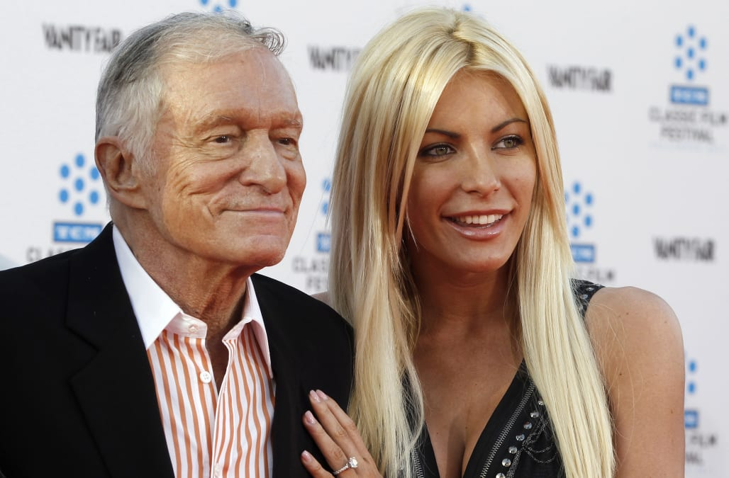 Hugh Hefner S Wife May Not Get Much Money Due To An Ironclad