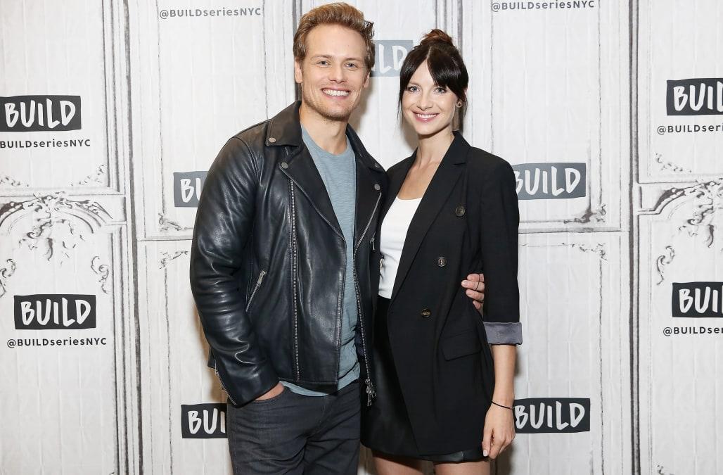 Caitriona Balfe and Sam Heughan preview 'Outlander' season 3