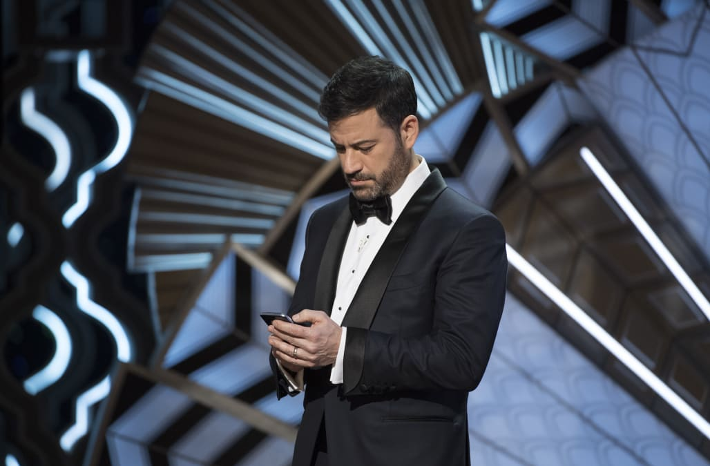 Jimmy Kimmel's most hilarious moments through the 2017 Oscar