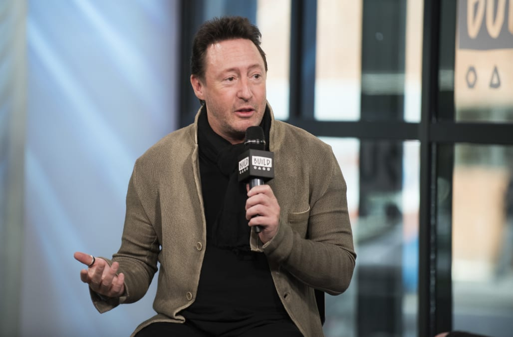 Julian Lennon Attends Aol Build Series At Studio On April 13 Picture Id668162532