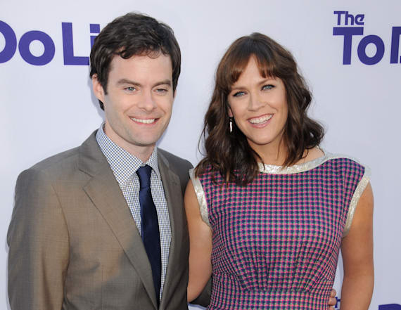 'SNL' star Bill Hader divorcing wife of 11 years