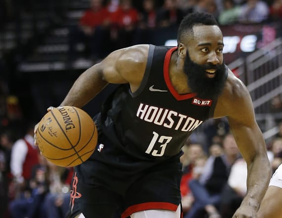 NBA MVP James Harden reveals go-to workout products