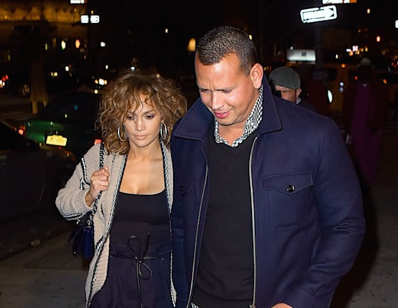 Jennifer Lopez and Alex Rodriguez go to the Hamptons