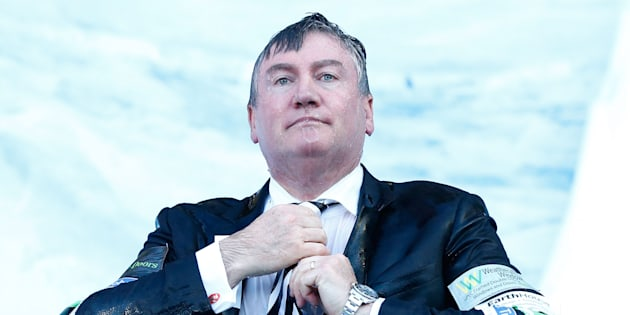 Eddie McGuire has been criticised on social media over recent radio comments.