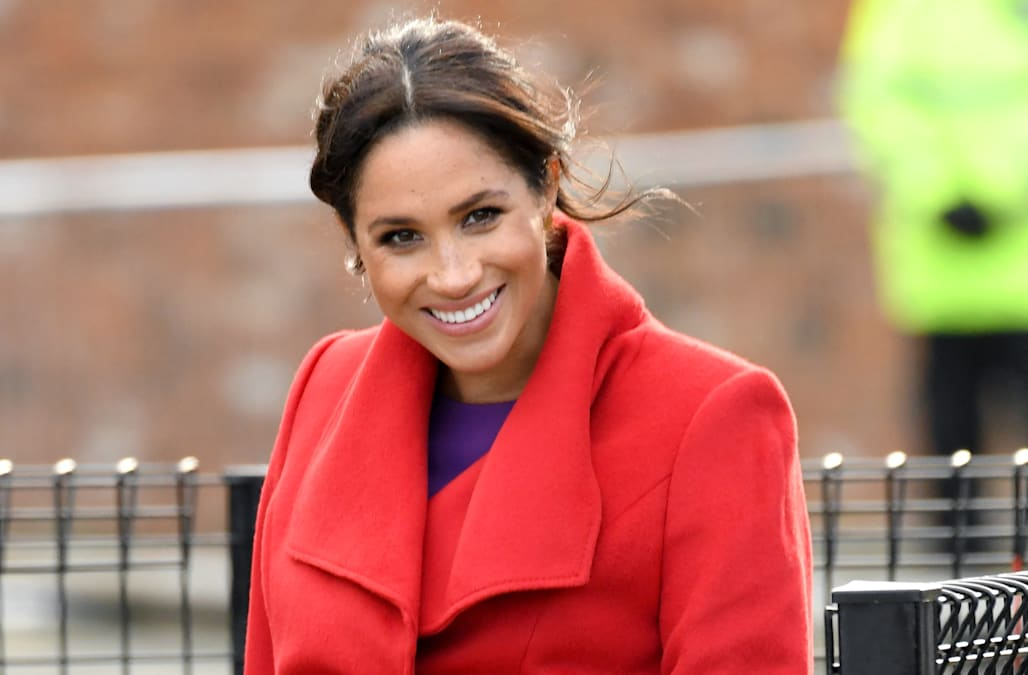 02ad16ce1da Meghan Markle reveals when she's due to give birth - AOL Entertainment