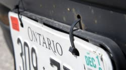 Ontario's New Licence Plates Will Say 'A Place To Grow':