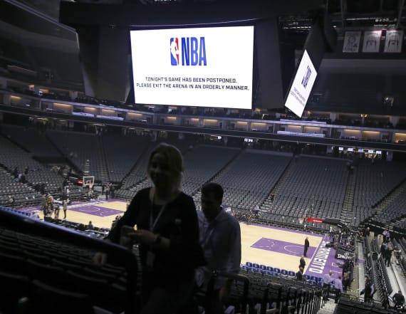 Report: NBA considers new rapid COVID-19 tests