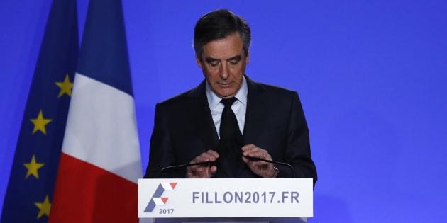 Le jour où on a assisté au naufrage de la campagne de François Fillon. REUTERS/Christian Hartmann