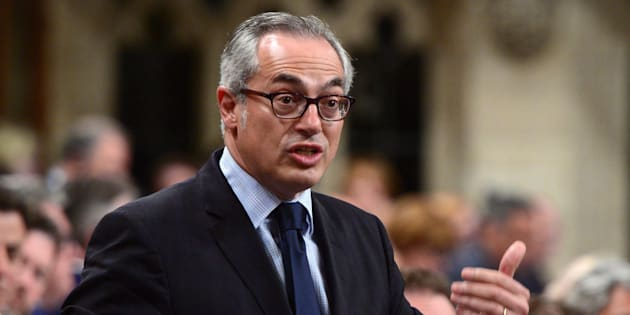Conservative MP Tony Clement stands during question period in the House of Commons on Parliament Hill on June 12, 2017.