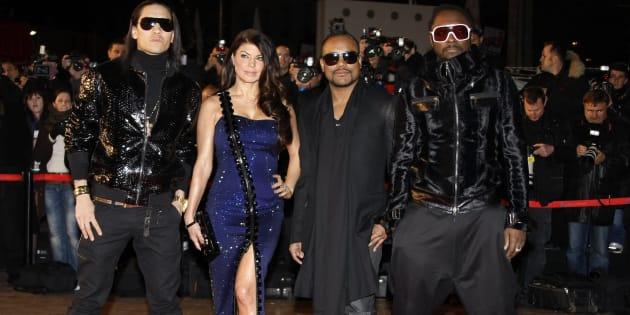 Les Black Eyed Peas en 2010.