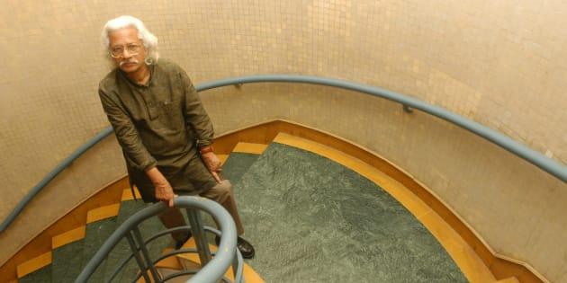 File photo of filmmaker Adoor Gopalakrishnan.