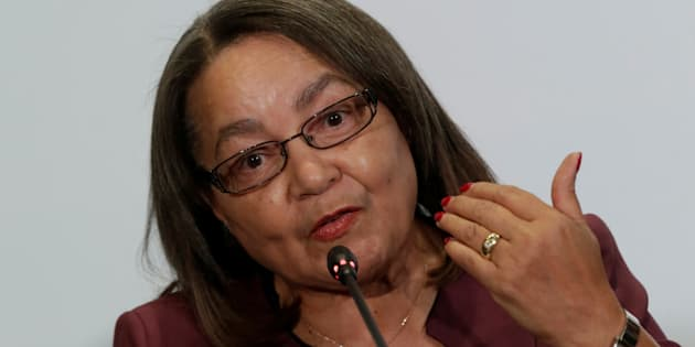 Cape Town Mayor Patricia De Lille speaks to the media during a news conference at the C40 Mayors Summit at a hotel in Mexico City, Mexico December 2, 2016. REUTERS/Henry Romero