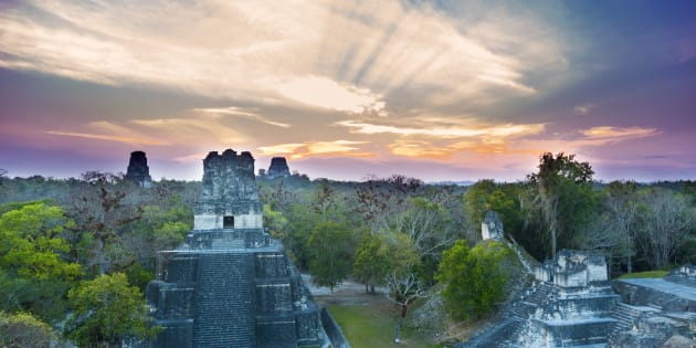 Au Guatemala, une citée Maya de plus de 2000 km² découverte sous la jungle.
