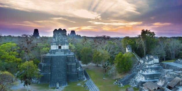 Au Guatemala, une cité Maya de plus de 2000 km² découverte sous la jungle.