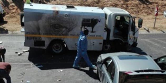 A cash-in-transit heist in Hazyview.
