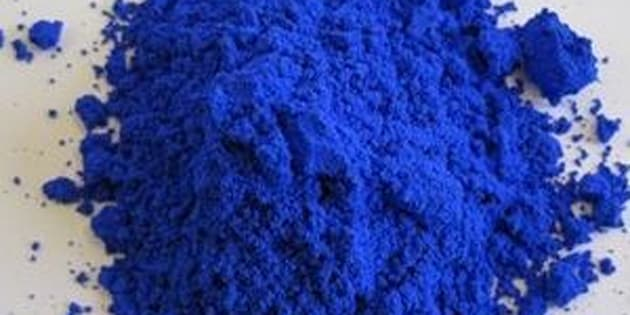 YInMn blue, in all its vibrant glory.